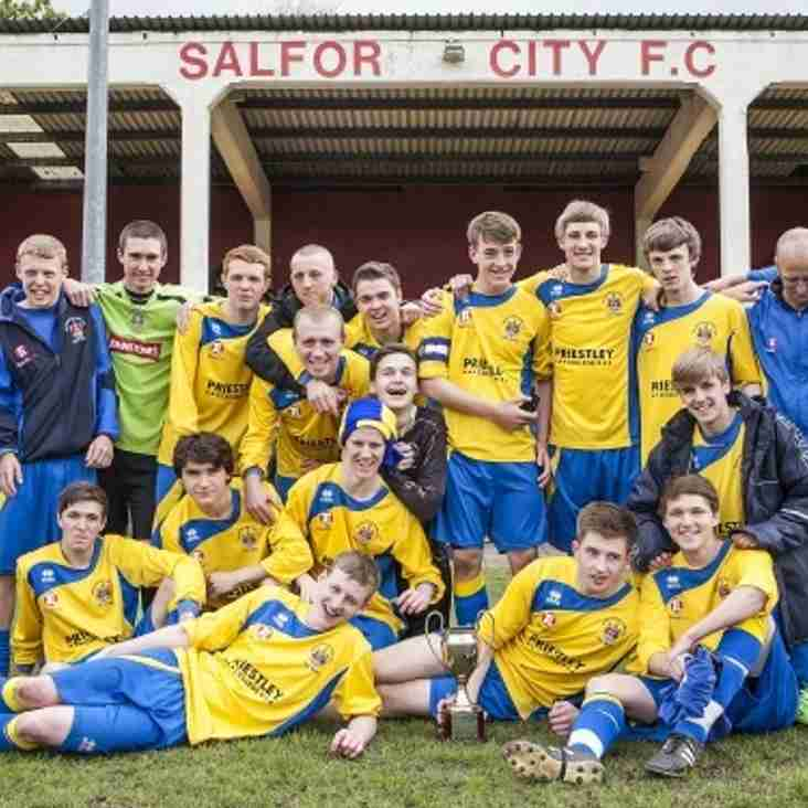 Wire youth team celebrate success