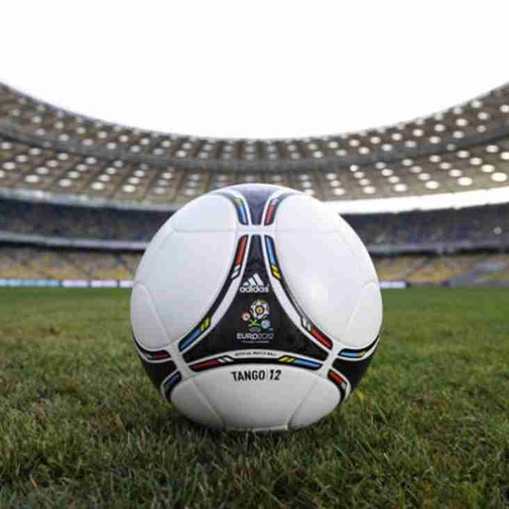 Euro 2012 ball trialled at DW Trophy
