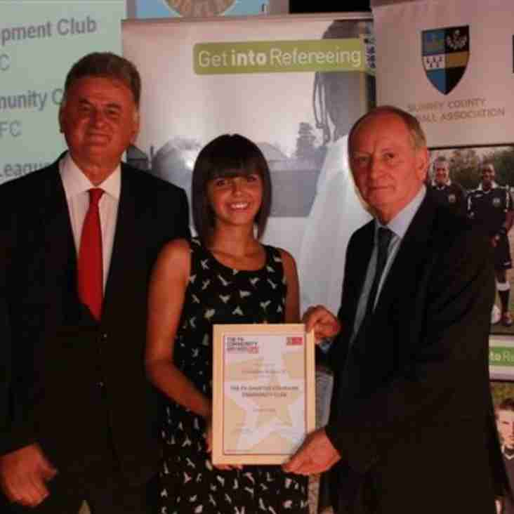 Another award for Robins