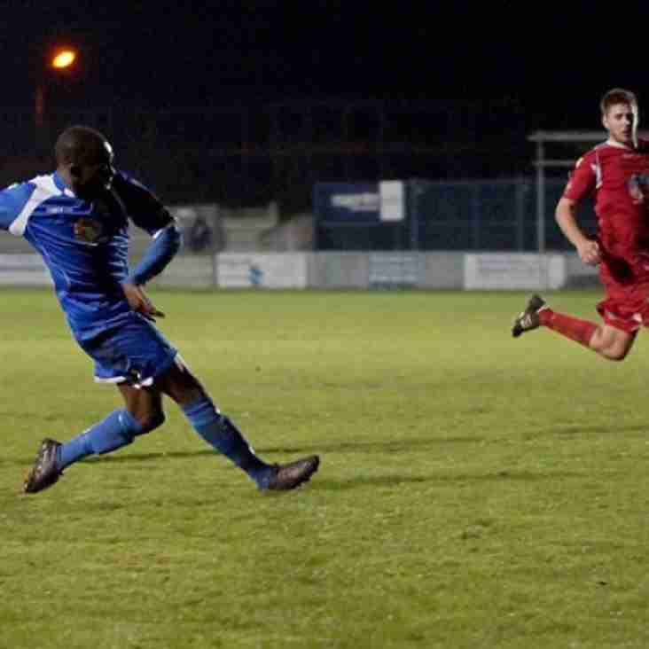 Late strike by Appiah lifts Aveley