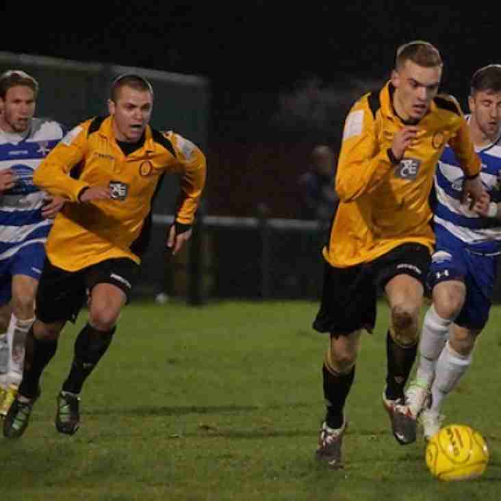 Margate on top; holders out of cup