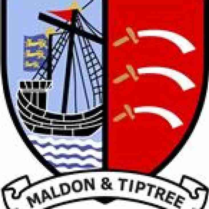Maldon clinch second place