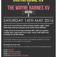Wayne Barnes Day Round 3