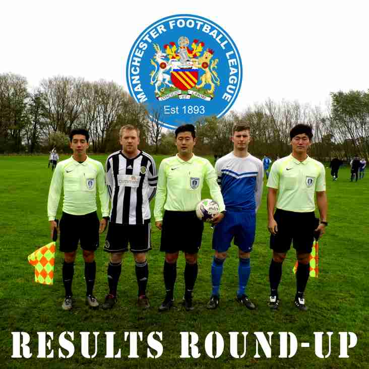 Results Round-Up - 21.10.17