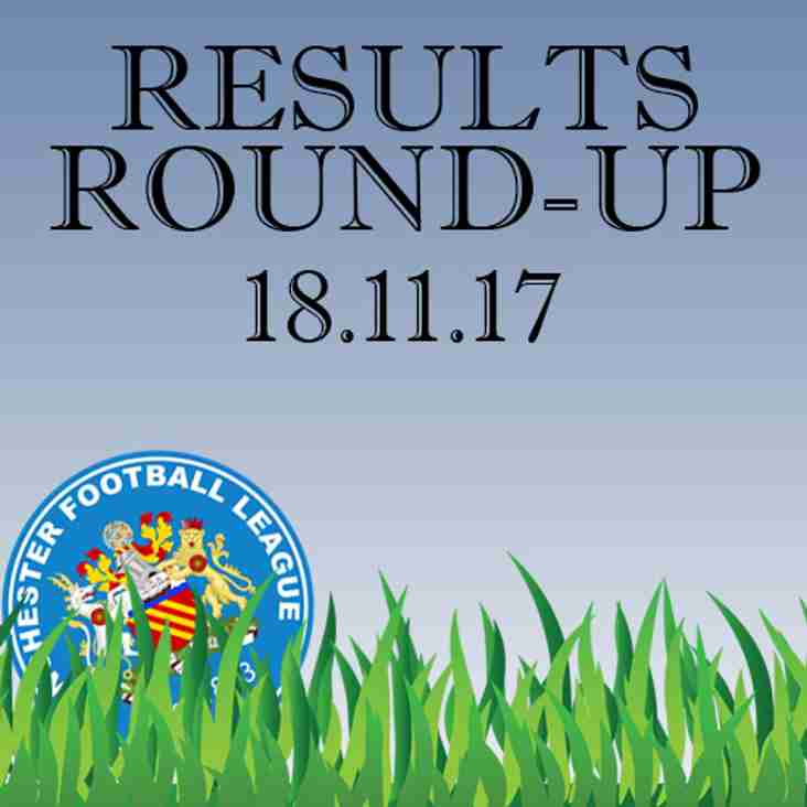 Results Round-Up - 18.11.17