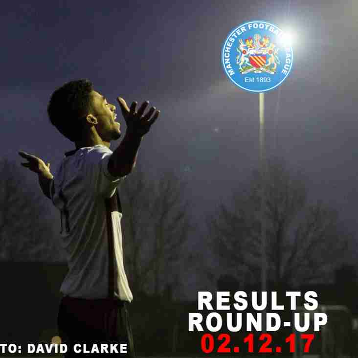 Results Round-Up - 02.12.17