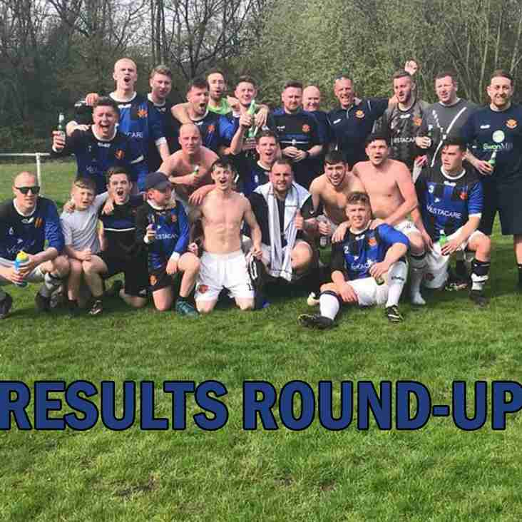 Results Round-Up - 21.04.18