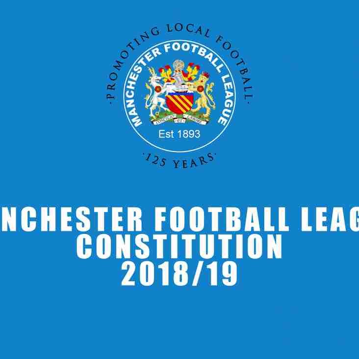 2018/19 League Constitution