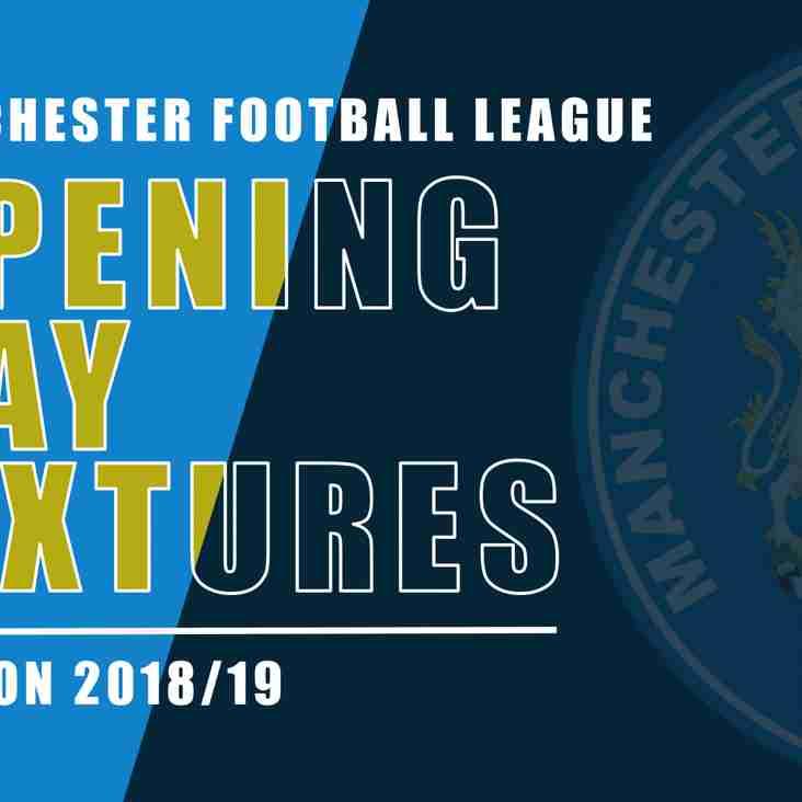 2018/19 Fixtures - August