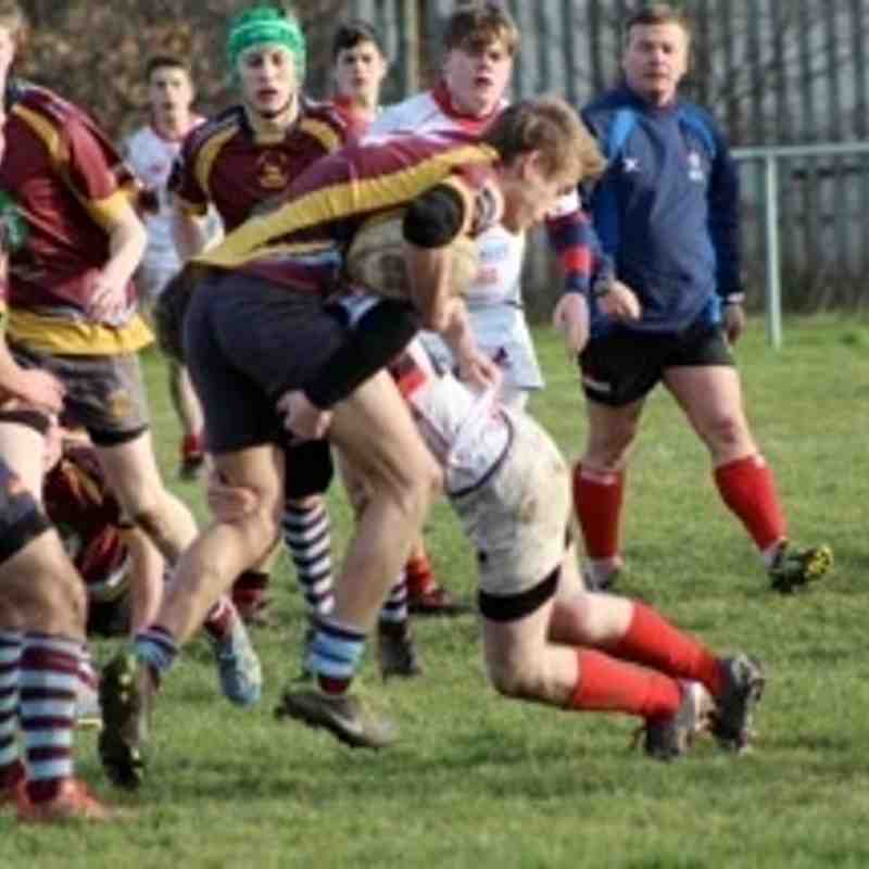 Under 17 v Bromsgrove 11 January 2015