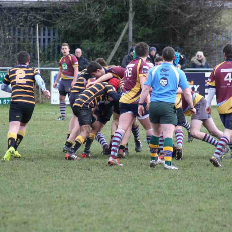 Under 17's  v Kidderminster Jan 25 2015