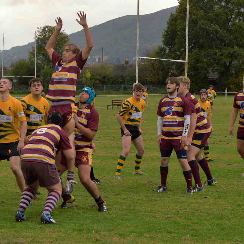 Malvern Colts 46 v Church Stretton 10 National Under 18 Cup