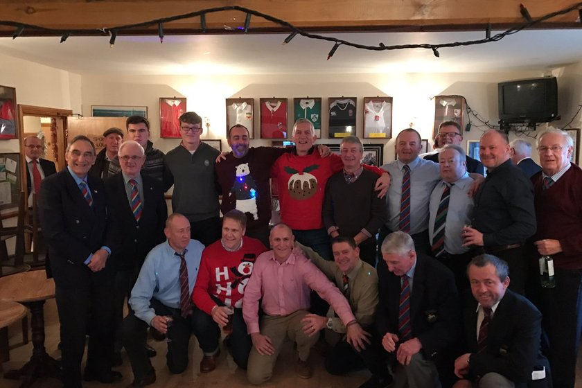 Christmas Lunch Saturday 16th December 2017 - Malvern 1sts and 2nds V Earlsdon 1sts and 2nds