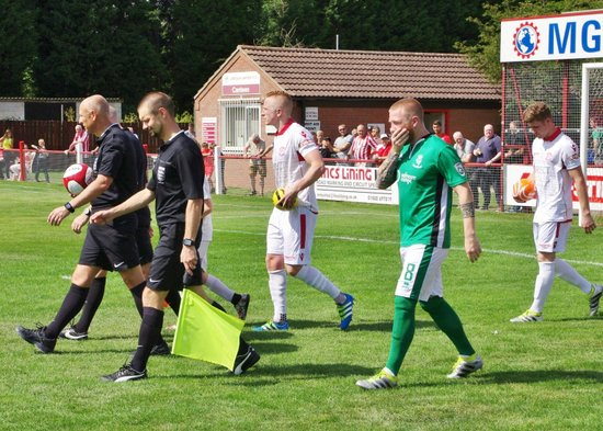 Lincoln Utd v Lincoln City (Cup) 23-07-16 The Game
