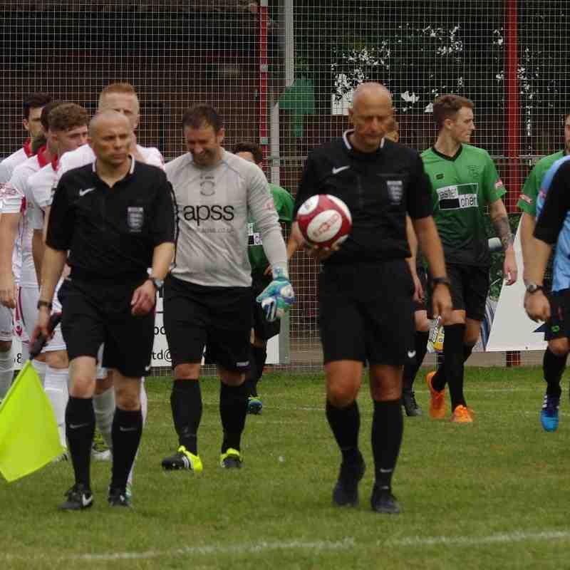 Lincoln Utd v Leek Town - 13-08-16