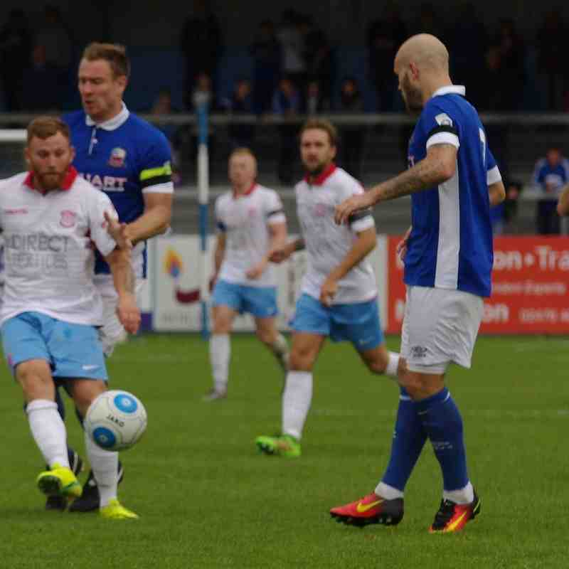 Nuneaton Town v Lincoln Utd (Cup) - 17/9/2016