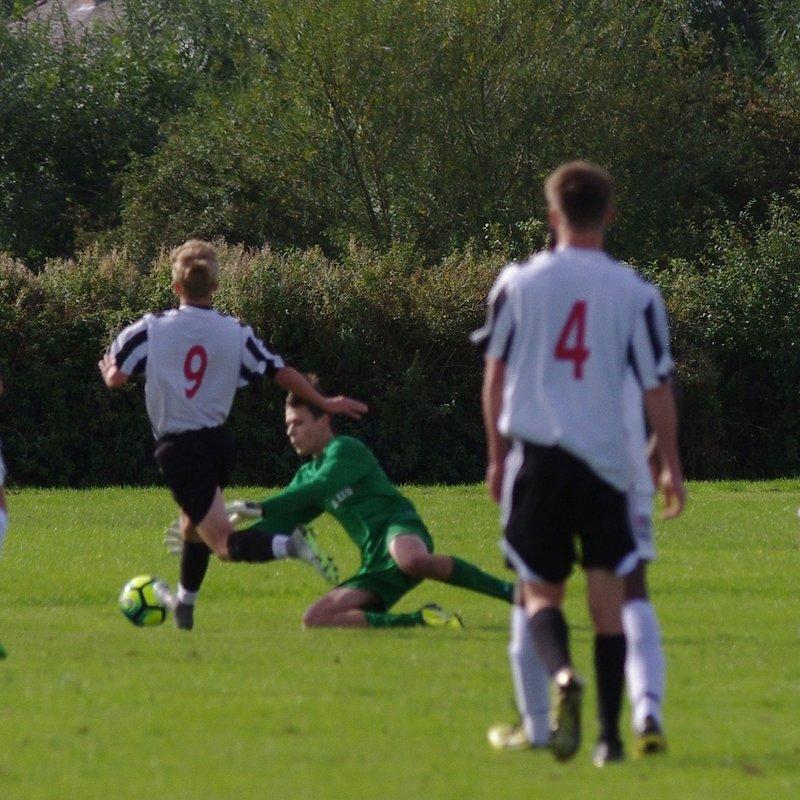 Retford Utd v Lincoln Utd U17s - 25-9-16