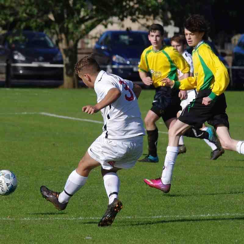 Caythorpe & Fulbeck v Lincoln Utd U17s (NCS Cup) - 09-10-16