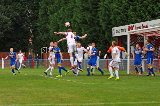 Lincoln Utd v Spennymore Town (Cup) -- 15/10/2016