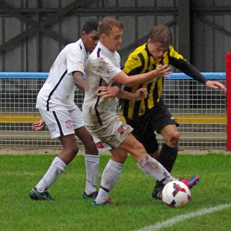 Lincoln Utd U17s v Holbeach Utd JFC U18s (County Cup) - 16-10-16