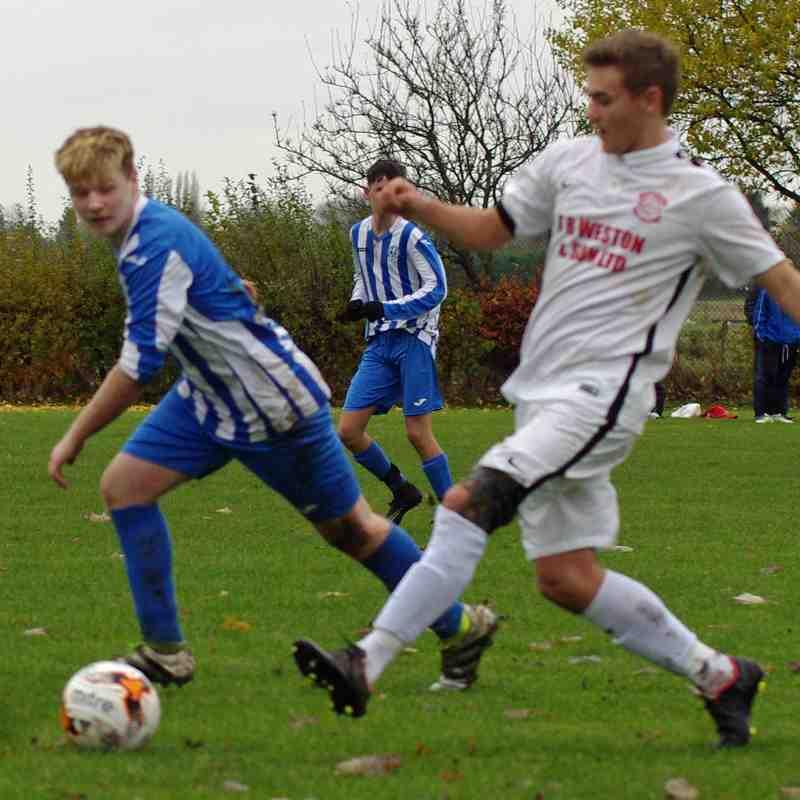 HBW U17s v Lincoln Utd U17s - (NCS Cup) - 20-11-16