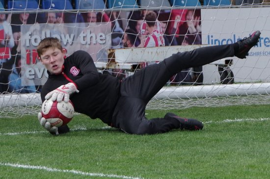 U16s County Cup Final - Deeping Rangers v Lincoln Utd - 23-04-17 - Sincil Bank
