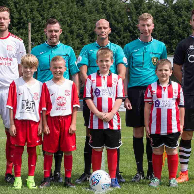 Lincoln Utd v Lincoln City - Lincoln Cup - The Match 08-07-17