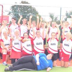 Tcs ladies vs Burnham 5-0 win 18.10.14