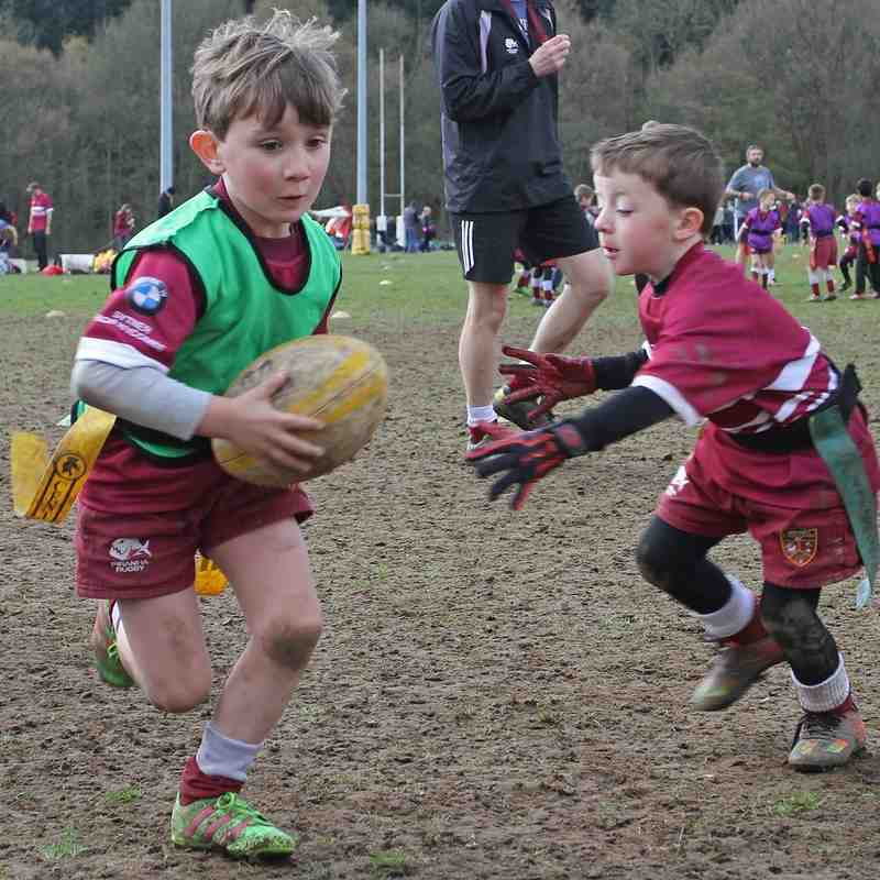 Josh Lewsey returns to  A+C Rugby Club for Training sessions and Prize givings.     17 April 2016