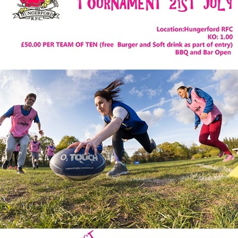 Touch Tournament 21st July