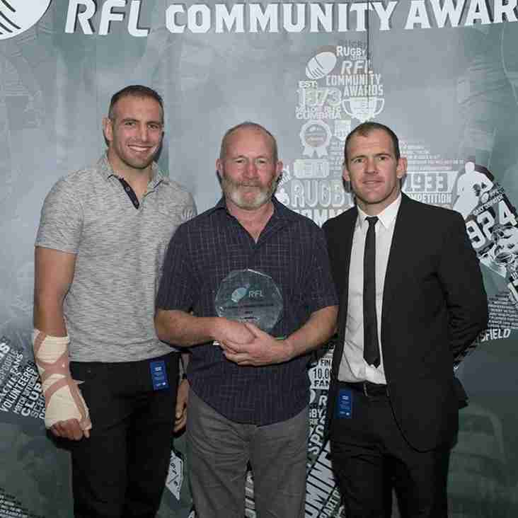 Dave Kelly - Coach of the Year 2015
