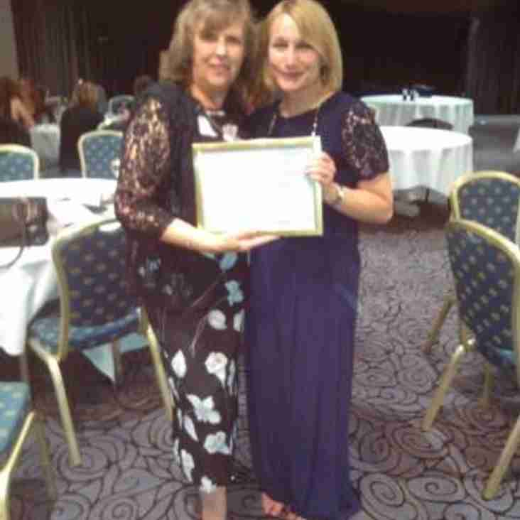Club Sec Jean crowned Club Woman of the Year 2015!