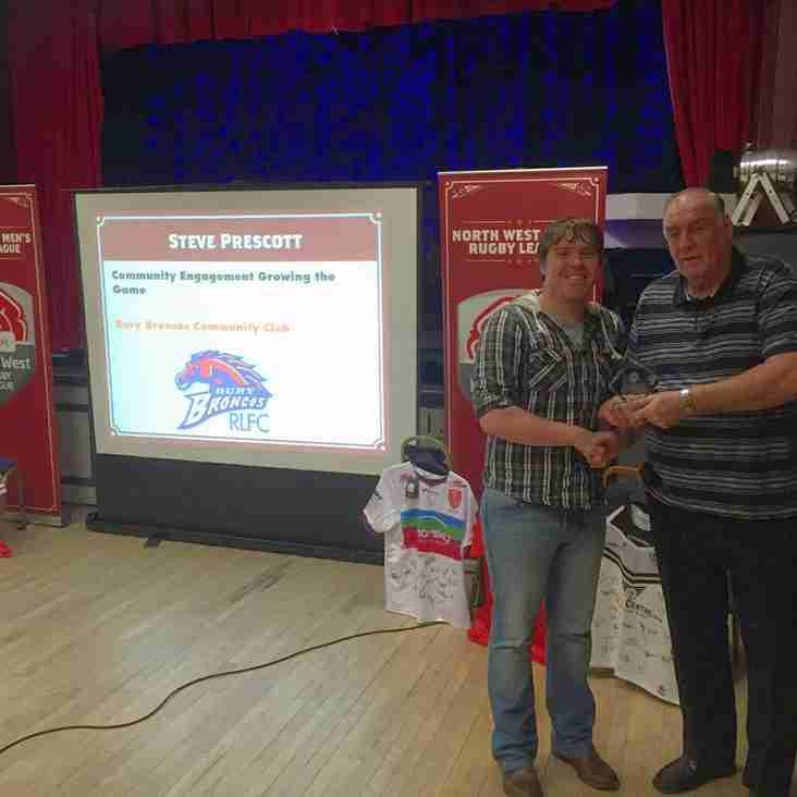 Broncos Win Community Engagement Award!