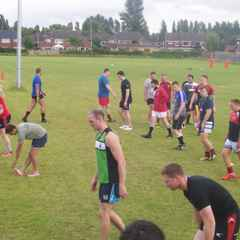 Great turn out at pre-season training!