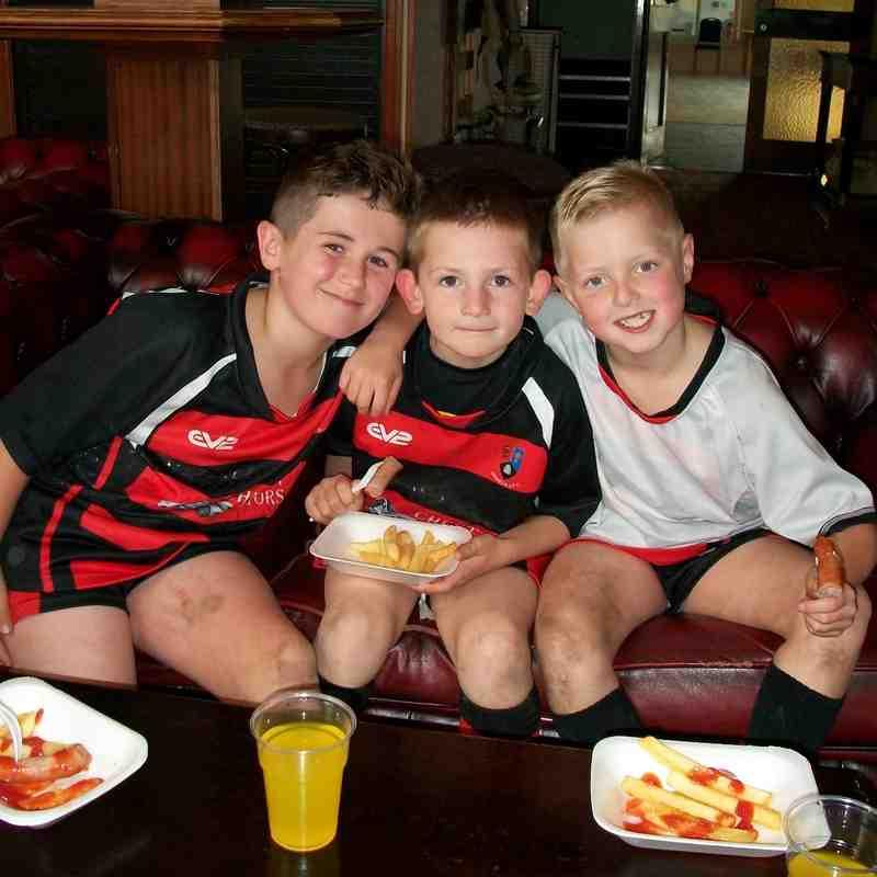 Under 9's at Warrington