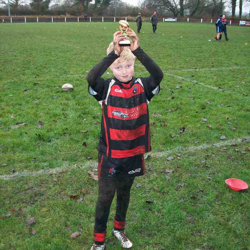 Under 9s v Liverpool St Helens