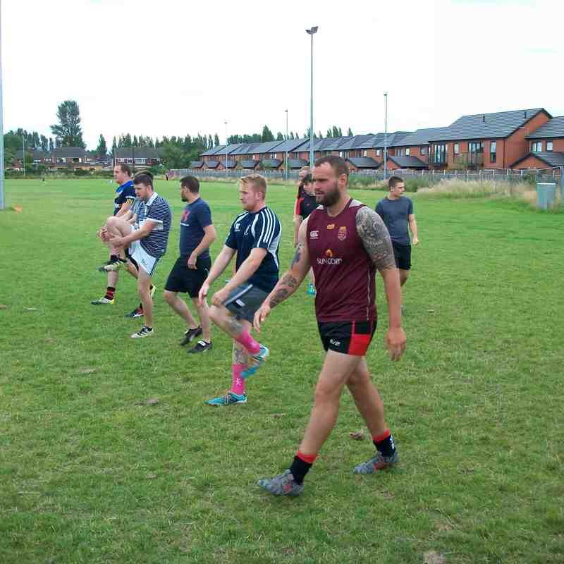 Pre-season training 13.07.17
