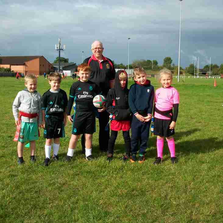 Minis and Juniors Training Session 17th September