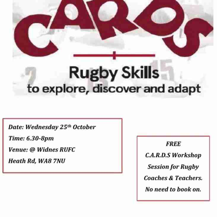 CARDS Rugby Skills