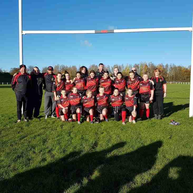 Widnes Warrior Girls U13's