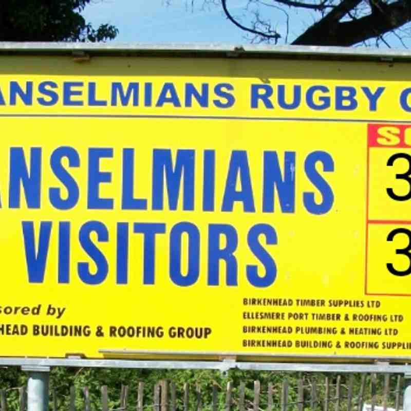 Scoreboard v Anselmians 140418