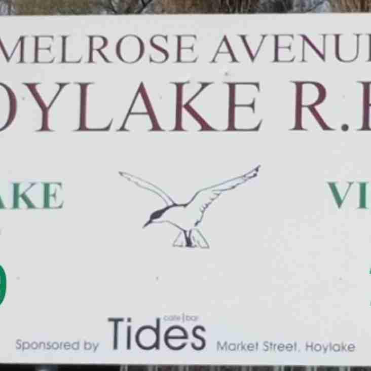 Widnes beat Hoylake