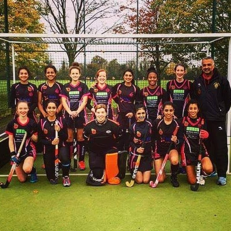 Women's 2nd XI beat Oxford University Ladies 2nd 9 - 0