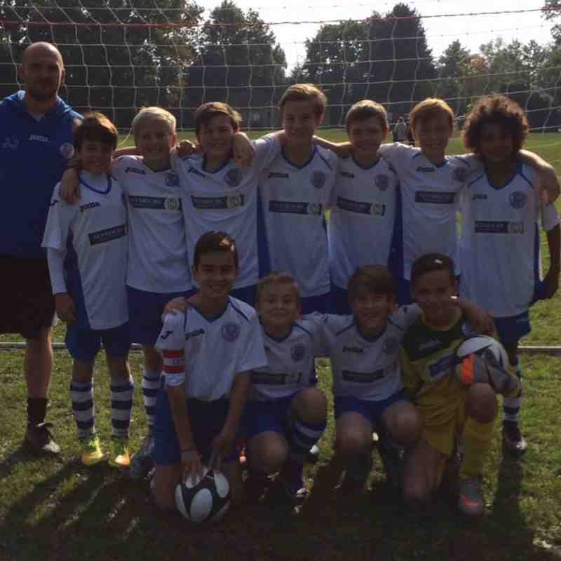 woking cougar blues under 12 2015/16