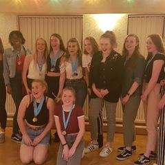 Libra Junior South Staffs presentation night 2018