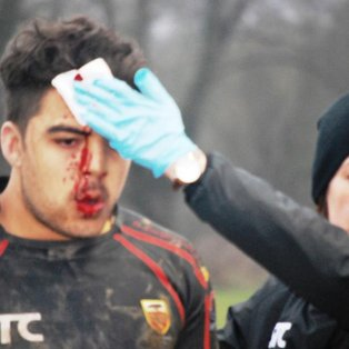 Bloodied but not bowed