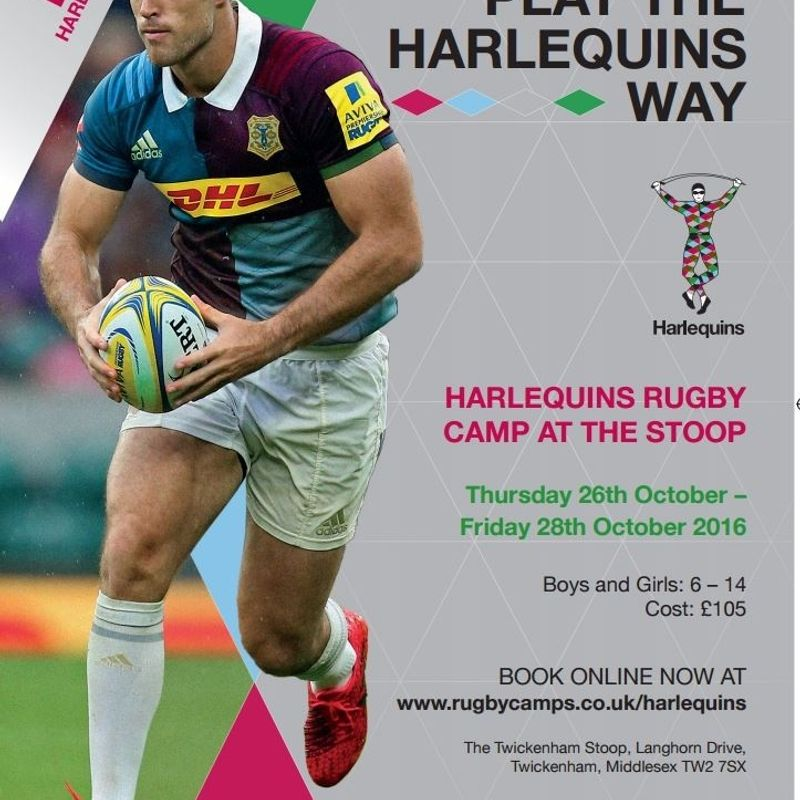 Harlequins Rugby Camp at the Stoop