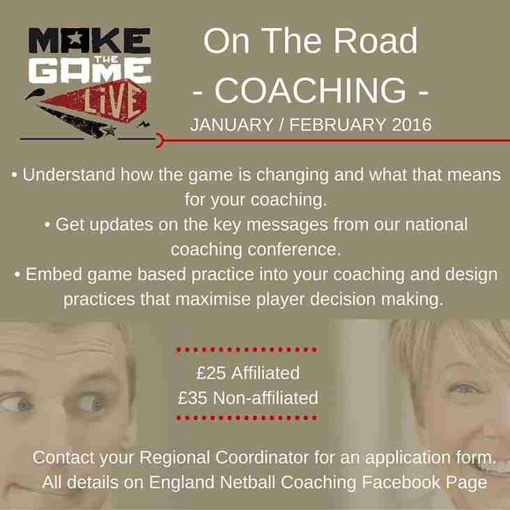 Make the game live - On the road