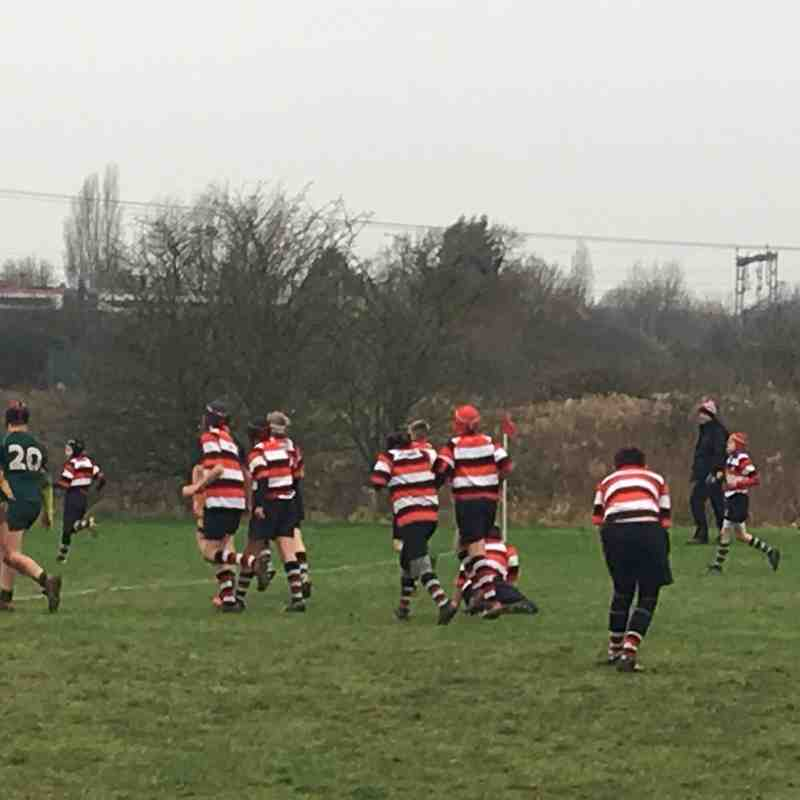 Nuneaton under 13's v's Melbourne