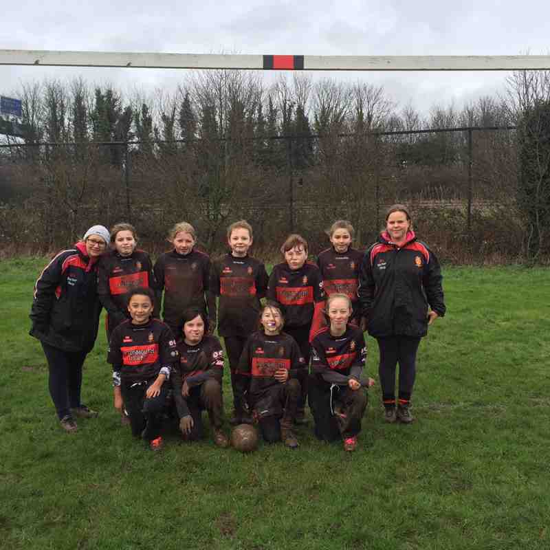 Avonmouth U13 Girls
